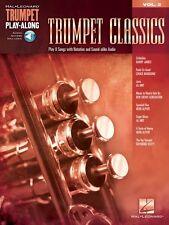 Trumpet Classics Trumpet Play-Along Book Audio Online NEW 000137384