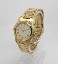 Ebel Solid 18K Yellow Gold Ladies 26mm 1911 Quartz Watch