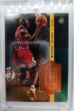 Rare Sample: 1998 98 UPPER DECK SPX FINITE Michael Jordan #S1, EMBOSSED FOIL !!