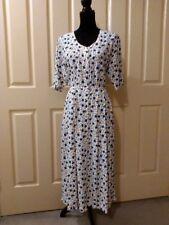 Solo vintage dress, size 10, 100% rayon