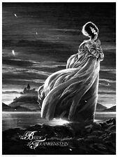 SPOSA di Frankenstein UNIVERSAL MONSTERS STAMPA MONDO artista Nicolas Delort / 295