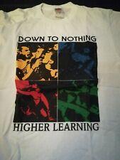 Down To Nothing Shirt Hardcore Punk Straight Edge Casey Jones