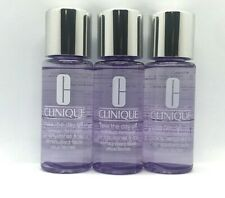 Lot/3 Clinique Take The Day Off Makeup Remover For Lids Lashes & Lips ~  1.7 oz