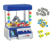 Carnival Claw Game Machine Mini Arcade Grabber Crane 2019 Model Blue + 24 toys