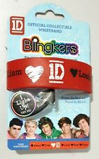 I ❤ 1D - ONE DIRECTION Official Collectible BLINGKERS WRISTBAND - Lights Up! [b]