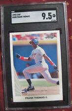 Frank Thomas 1990 Leaf Rookie Card #300 - SGC 9.5!  Gem Mint! White Sox psa bgs