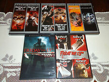 NEW 11 DVD Friday the 13th Collection 1-8, Goes to Hell, Jason X, Killer Cut