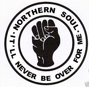 Northern soul decal sticker wigan tamla motown scooter mod torch twisted wheel