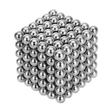 216Pcs 5mm DIY  Magic Beads Magnetic Balls Puzzle Silver