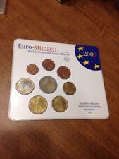 Coin Set Of Germany 2003 G. Baden Wurttemberg Karlsruhe. Euro