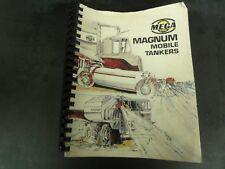 Mega Magnum Mobile Tankers Parts Manual
