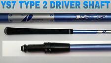 TITLEIST YS-7 II Stiff Graphite Design 915 910 913 917 Driver Shaft+tip+inch