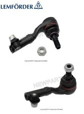 For BMW E90 325xi Set of Left & Right Outer Tie Rod Ends OEM LEMFOERDER