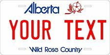 Alberta 1984 license plate Tag Personalized Auto Car Custom VEHICLE OR MOPED