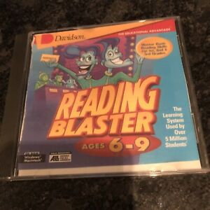 Reading Blaster Ages 6-9  Windows/Mac.Jumpstart Your Child's Distance Learning!