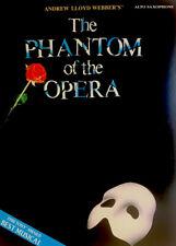 The Phantom of the Opera for Alto Saxophone Instrumental Folio NEW