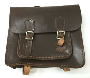Childs Vintage Leather Back Pack Backpack Satchel