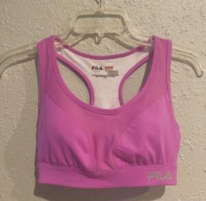 FILA Pink Purple Sports Bra
