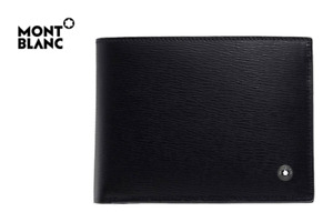 MONTBLANC Meisterstuck Leather Wallet 38036 Men Black with Free Gift
