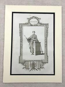 1779 Print King Henry II of England Plantagenet Royal Original Antique Engraving