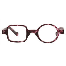 Beison Full Rim Mens Womens Vintage Square Round Readers Reading Glasses