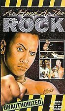Sports The Rock VHS Tapes