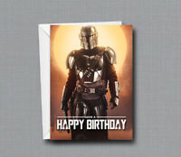 This Is The Way - The Mandalorian - Birthday Card