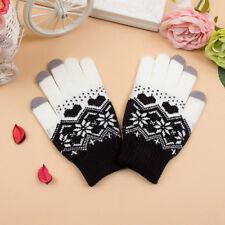 NEW Touch Screen Gloves Women Girl Stretch Knit Mittens Winter Warm Gloves