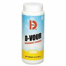 Big D Industries D-Vour Absorbent Powder, Lemon, 6 Cans (Bgd 166)