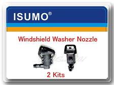 Set 2 Windshield Washer Nozzle Fits:Ford F250 F350 F40 F550 Super Duty 2011-2016
