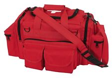 bag emt rescue trauma red with white cross emergency rothco 2659