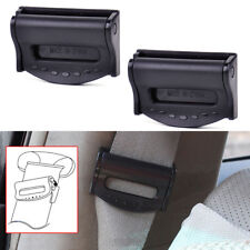 2X Car Seat Belt Safety Adjuster Clips Clamp Stopper Buckle Improves Comfort