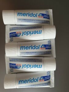 meridol Parodont Expert Zahnpasta  5 x 20 ml neu in OVP, Reisegr. MHD 3/22