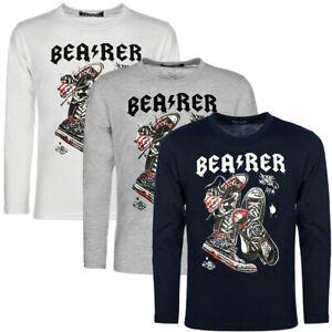 Langarmshirt Jungen Pullover Sweater Long Pulli Sweat T-Shirt 30126