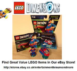 LEGO Dimensions Superman DC Comics Fun Pack 71236 Boxed - Premium eBay Trader -