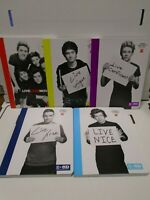 One Direction Office Depot Lot 5 Composition Notebooks Limited Edition 021120AMT