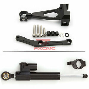 For Yamaha MT09 sp 2018-2019 CNC Steering Damper Stabilizer Bracket Mount Holder