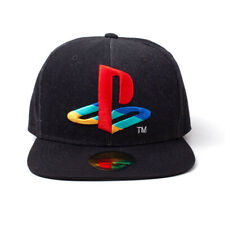 Official SONY PLAYSTATION Denim Baseball Cap Snapback Hat Gaming Gift