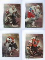 1998-99 BaP Signature Be a Player #99 Hextall Ron  autograph  flyers