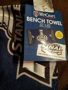2020 Eastern Conference Champions Tampa Bay Lightning LR Towel Stanley Cup
