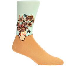 Hot Sox Vinvent Van Gogh Sunflowers Women's Socks - Green