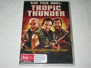 Tropic Thunder - Ben Stiller - Brand New & Sealed - Region 4 - DVD