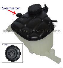 Mercedes 1645000049 Coolant Reservoir Overflow Expansion Tank + Cap + Sensor SET