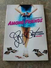 """VERY RARE! AUTOGRAPHED """"Among Friends"""" BRAND NEW! Horror DVD-Part of Collection!"""