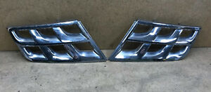 2011-2015 Nissan Rogue grille chrome finisher trim Left And Right