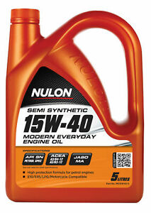 Nulon Semi Synthetic Modern Everyday Engine Oil 15W-40 5L ME15W40-5 fits Mazd...