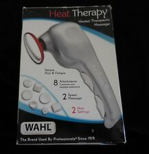 Wahl 4196-1001 HEAT THERAPY Therapeutic MASSAGER NIB 8 Attachments 2 Speed 2 Hea