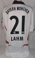 Adidas FC Bayern München Munich Gr. XL 21 Lahm Saison 2006 / 2007