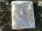 Annette Tatum House Inc Trellis Rose Khaki Duvet (Q) Rare 1/2' Folded Ruffle HTF