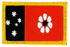 FLAG PATCH PATCHES Northern IRON ON EMBROIDERED AUSTRALIA STATE Territory